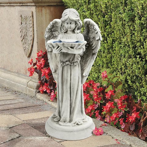 Tranquil Guardian Angel Statue