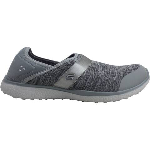 Skechers Mircroburst Greatness Grey 23303/GRY Women's