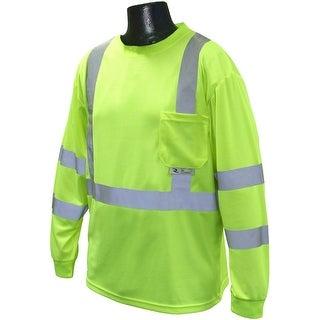 Radians ST21-3PGS-M Max-Dri Class 3 Long Sleeve T-Shirt, Medium