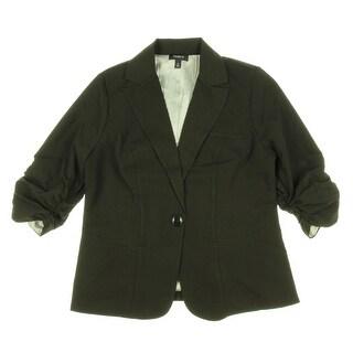 Torrid Ruched Sleeve Blazer