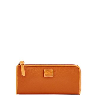 Dooney & Bourke Patterson Leather Zip Clutch Wallet (Introduced by Dooney & Bourke at $128 in Oct 2017)