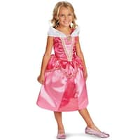 Disguise Disney Princess Aurora Sparkle Classic Child Costume - Pink