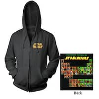 Star Wars Periodic Table Men's Zip Hoodie