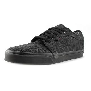 Vans chukka low Men  Round Toe Synthetic Black Skate Shoe