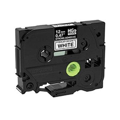 Brother Mobile Solutions - Hges2315pk - Black Ink On White Tape