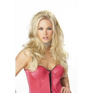 Seductress Blonde Wig for Adult Halloween Costume - standard - one size