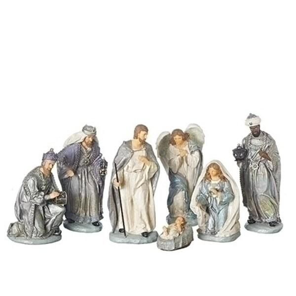 "7 Piece Set of 12"" Nativity Versaille Colorway"