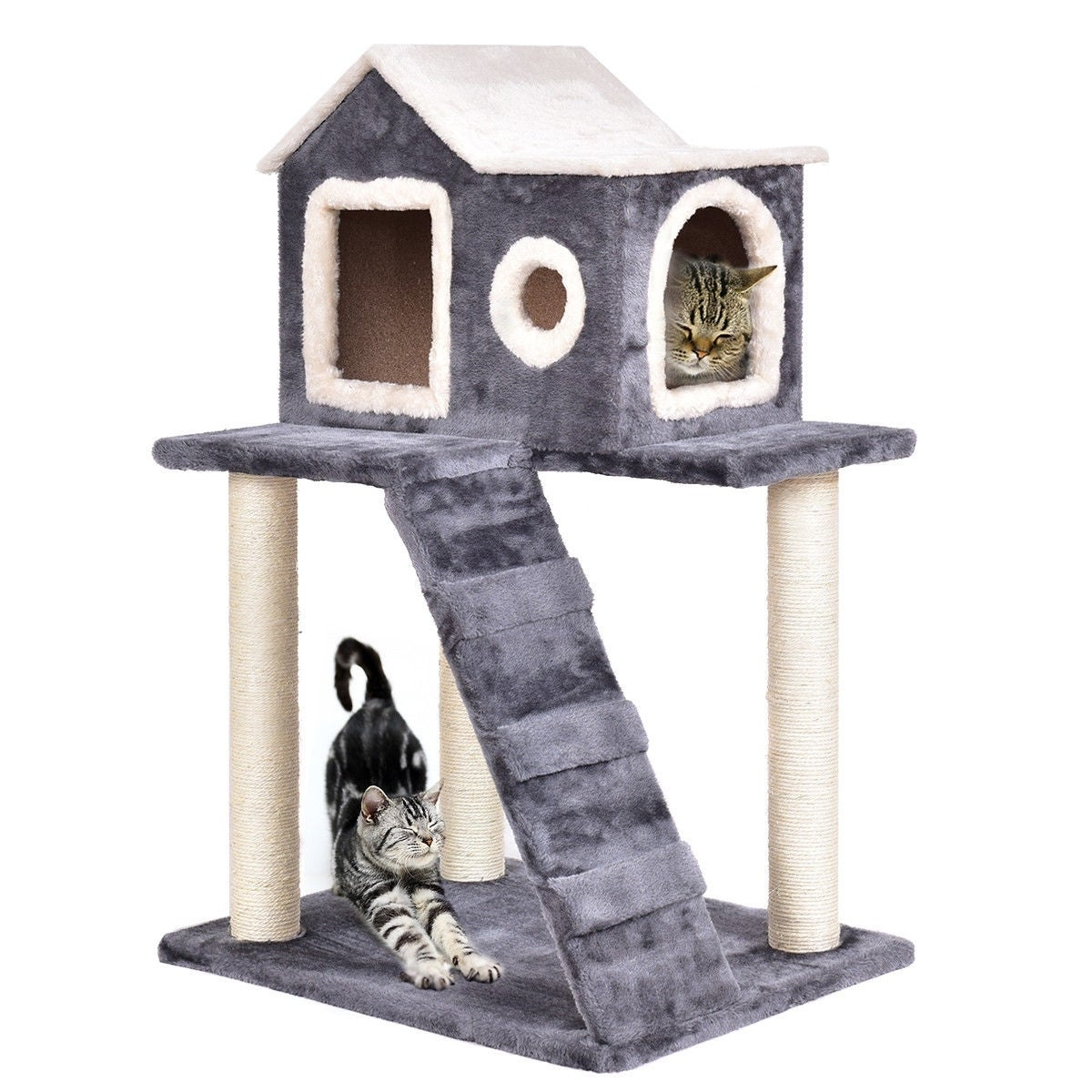 36 Tower Condo Scratching Posts Ladder Cat Tree