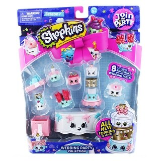 Shopkins S7 Join the Party Theme Pack: Wedding Party Collection - multi