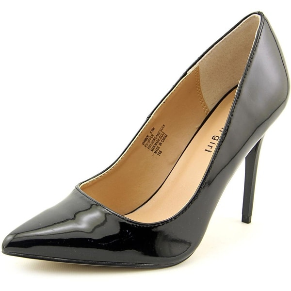 Madden Girl Ohnice Women Pointed Toe Synthetic Black Heels