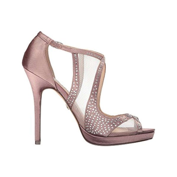 Nina Womens Franca Open Toe Special Occasion Ankle Strap Sandals