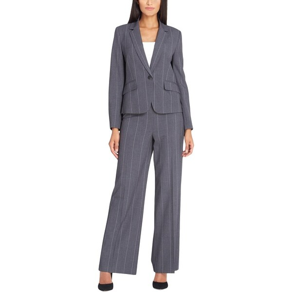 Tahari Womens Pant Suit Professional Office Wear