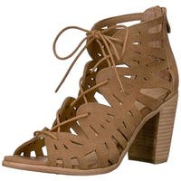 Very Volatile Womens Annabell Open Toe Casual Strappy Sandals
