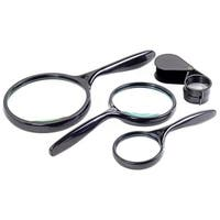 Tradespro 4 Piece Magnifying Glass Set - 837376