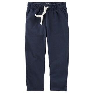 OshKosh B'gosh Little Boys' French Terry Pants, 4-Toddler