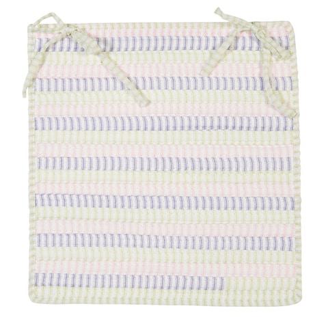 Ticking Stripe Rectangle Chair Pad