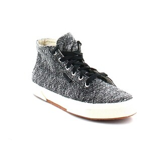 SUPERGA Womens S008JP0 Fabric Hight Top Lace Up Fashion Sneakers - 9.5