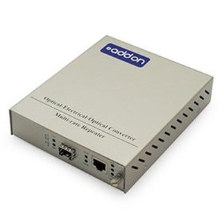 1GB 120V RJ-45 & SFP to Open SFP Slot Standalone Media Converter