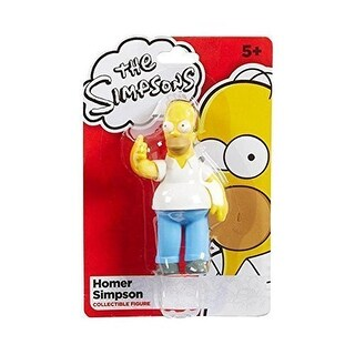 "The Simpsons 4"" Homer Simpson Collectible Figure by Character Options - Multi-Colored"