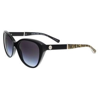 Michael Kors MK2025 316811 RANIA I Black Cateye Sunglasses - 54-18-135