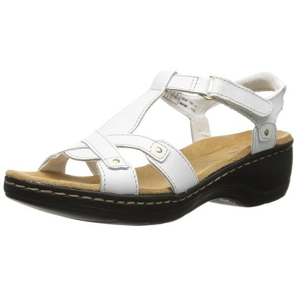 Clarks Women's Hayla Flute Wedge Sandal