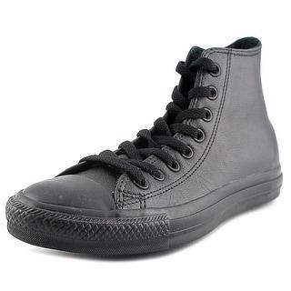 Converse Chuck Taylor As Hi Women Round Toe Canvas Black Sneakers