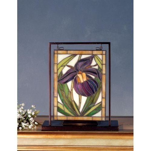 Meyda Tiffany 68351 Stained Glass Tiffany Window from the Wildflowers Collection
