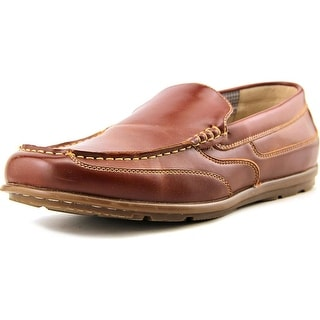 Nunn Bush Cale Men Round Toe Synthetic Brown Loafer