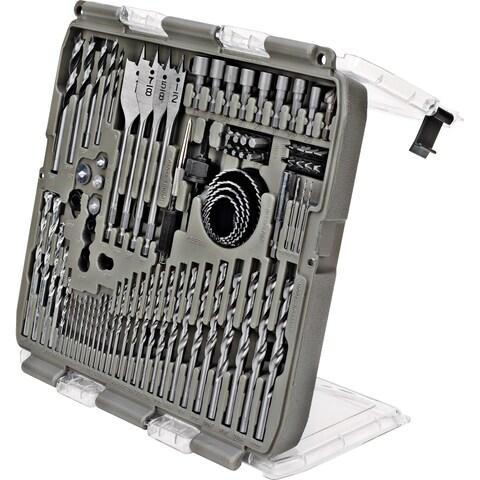 Trades Pro 90 Piece Drill Bit Set, Power Tool Accessory Kit, 835113