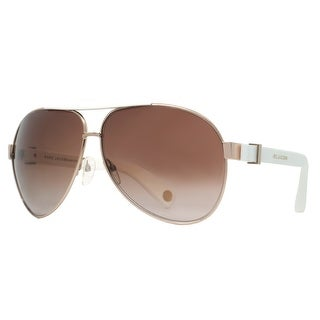 Marc Jacobs MJ 445 RCE JD Gold White/Brown Gradient Women's Aviator Sunglasses - 63mm-11mm-135mm