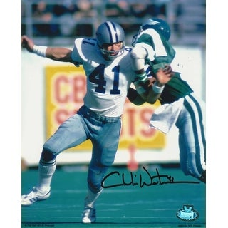 Charlie Waters Dallas Cowboys Autographed 8x10 Photo