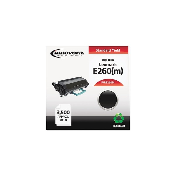Innovera Remanufactured E260(M) (E260M) MICR Toner, Black Remanufactured E260(M) (E260M) MICR Toner, Black