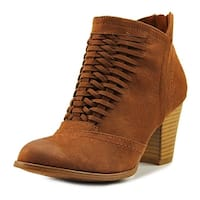Fergalicious Chelly Women  Round Toe Synthetic Brown Bootie