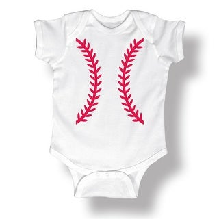 Baseball Shape Tuxedo Cute Sports Athletic-Baby One Piece