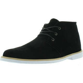 Franco Vanucci Men's Faux-Suede Leather Chukka Boot