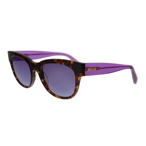 Just Cavalli JC759S 52W Havana Rectangular Sunglasses - No Size