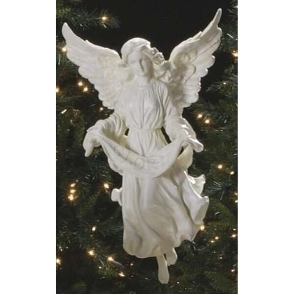 "27"" Joseph's Studio Gloria Angel Outdoor Christmas Nativity Statue"