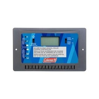 Coleman 68032 Digital Solar Charge Controller, 12V, 30 Amp