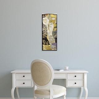 Easy Art Prints Gustav Klimt's 'Water Snakes I' Premium Canvas Art