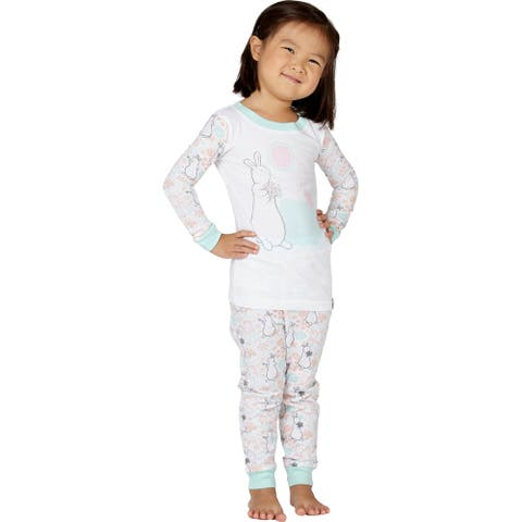 Pat The Bunny Daisy Easter Cotton Pajama Set