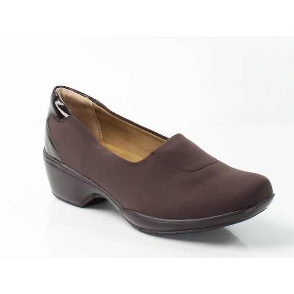 Softspots NEW Brown Women's Shoes Size 8.5W Marnie Lycra Loafer