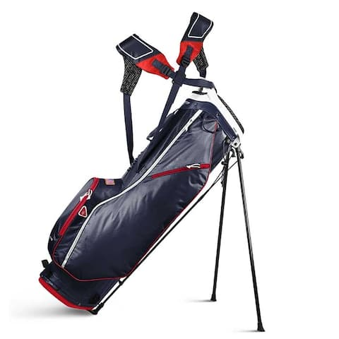 2019 Sun Mountain 2.5+ (No Logo) Golf Stand Bag (Navy / White / Red) - CLOSEOUT - Navy / White / Red