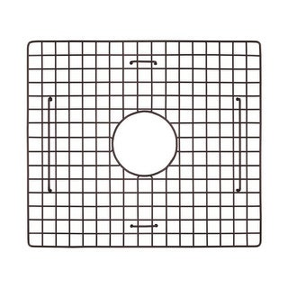 "Link to 17.25""x15.25"" Large Bowl Sink Bottom Grid Similar Items in Sinks"