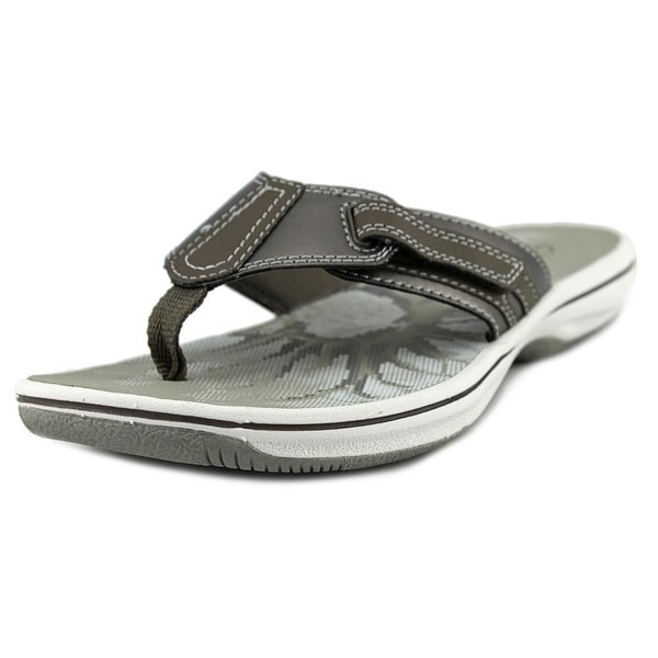 3dc4c81a9be Clarks Narrative Brinkley Jojo Open Toe Canvas Flip Flop Sandal - Free  Shipping On Orders Over  45 - Overstock.com - 21875131
