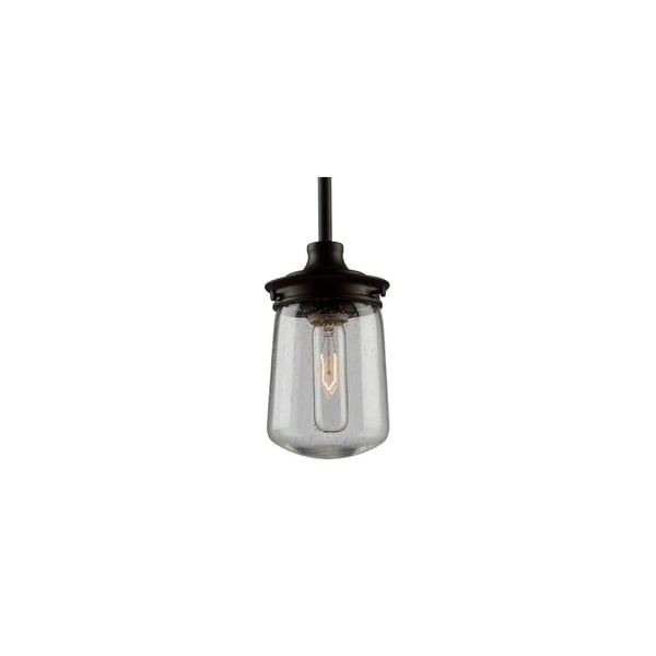 Artcraft Lighting AC10701 Nostalgia Single Light Pendant - Oil Rubbed bronze
