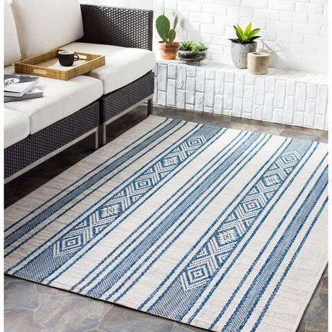 Tansy Indoor/ Outdoor Nordic Stripe Area Rug