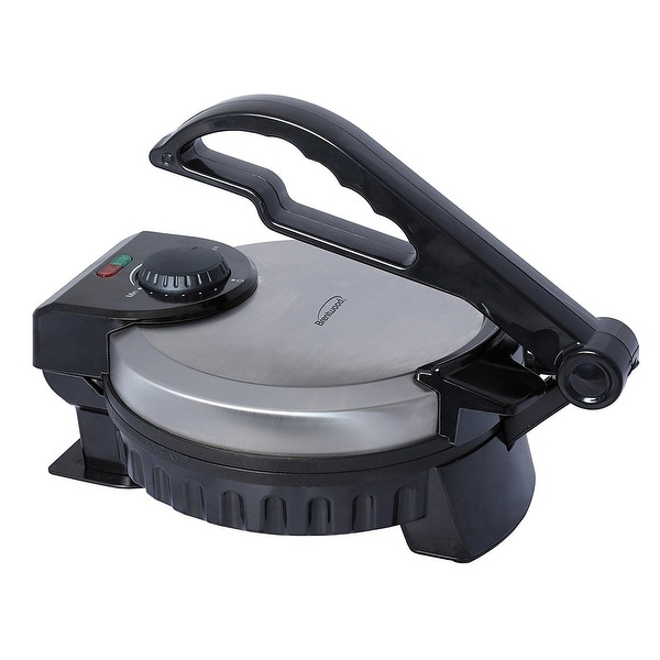 Brentwood Ts-127 8-Inch Tainless Steel Non-Stick Electric Tortilla Maker