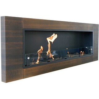 Nu-Flame NF-W4FIQ Finestra Quattro Fireplace - STAINLESS STEEL