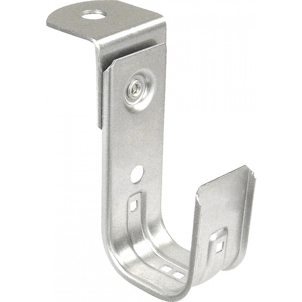 1 Pc, Stainless Steel J Hook with Angle Bracket, 3/4 in , 316SS, 316  Stainless Steel
