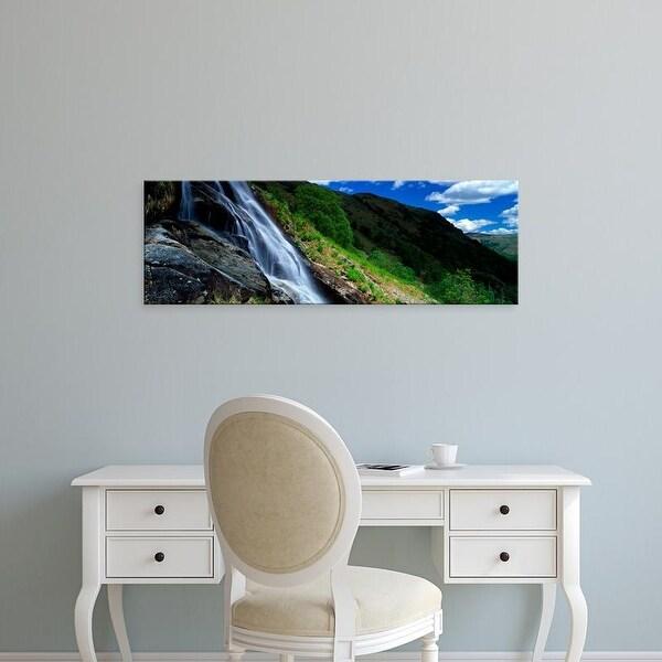 Easy Art Prints Panoramic Images's 'Sourmilk Gill, English Lake District, Cumbria, England, United Kingdom' Canvas Art